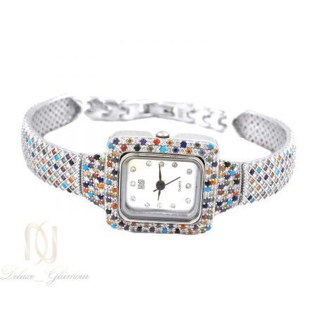 ساعت نقره زنانه طرح پرنس ma-n400 از نمای سفید