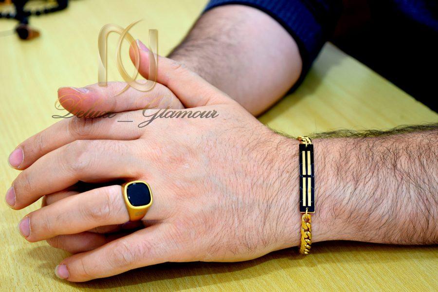 ست دستبند و انگشتر مردانه اسپرت ns-n506