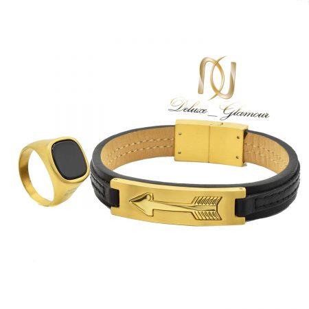 ست دستبند و انگشتر پسرانه اسپرت NS-N499
