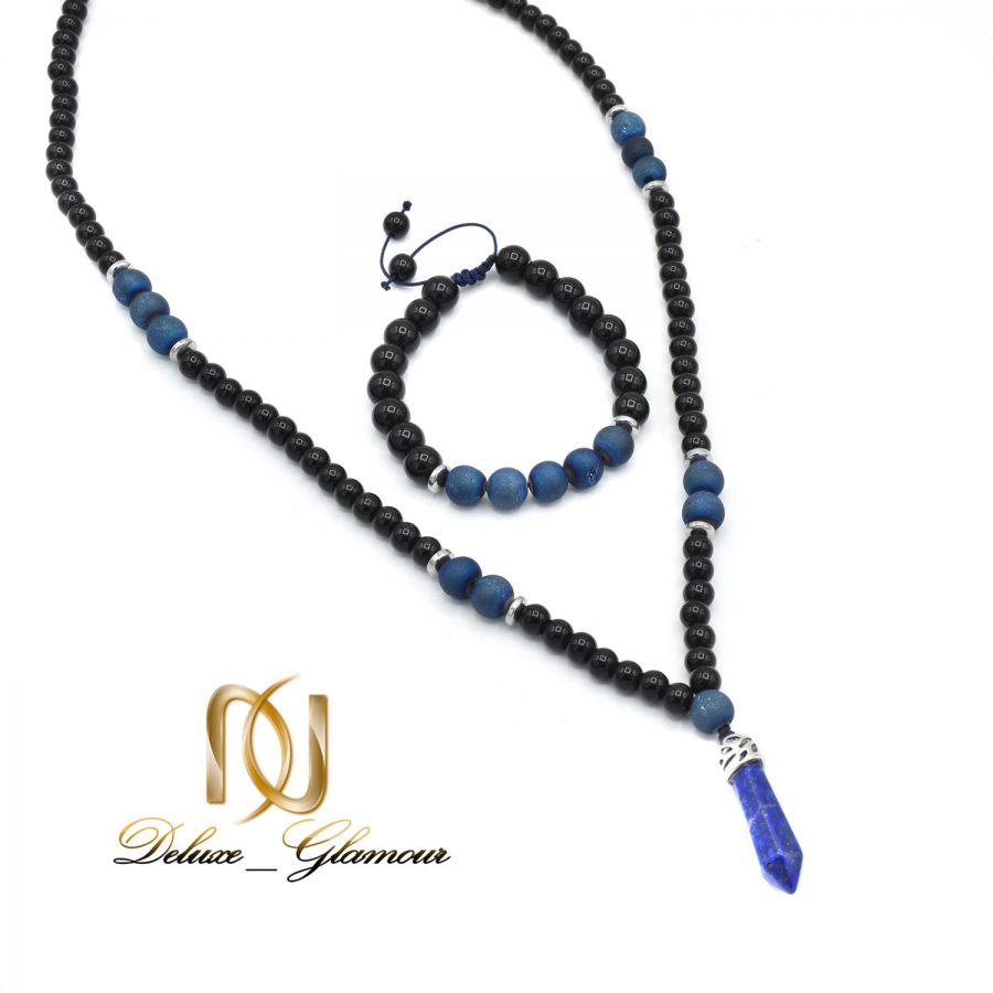 ست دستبند و گردنبند مردانه اسپرت ns-n511