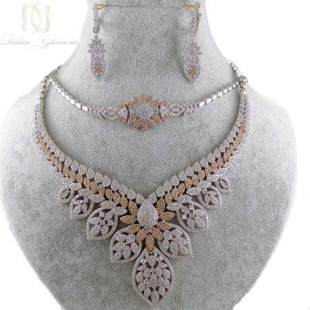 سرویس نقره جواهری زنانه ma-n403