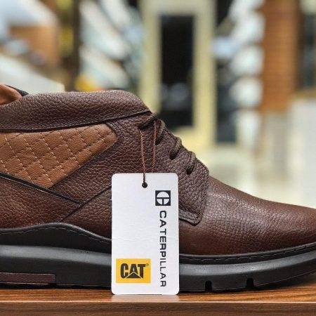 کفش مردانه نیم بوت طرح کاترپیلار sh-n102 از نمای روبرو