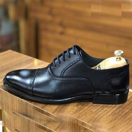 کفش چرم مردانه دست دوز sh-n105