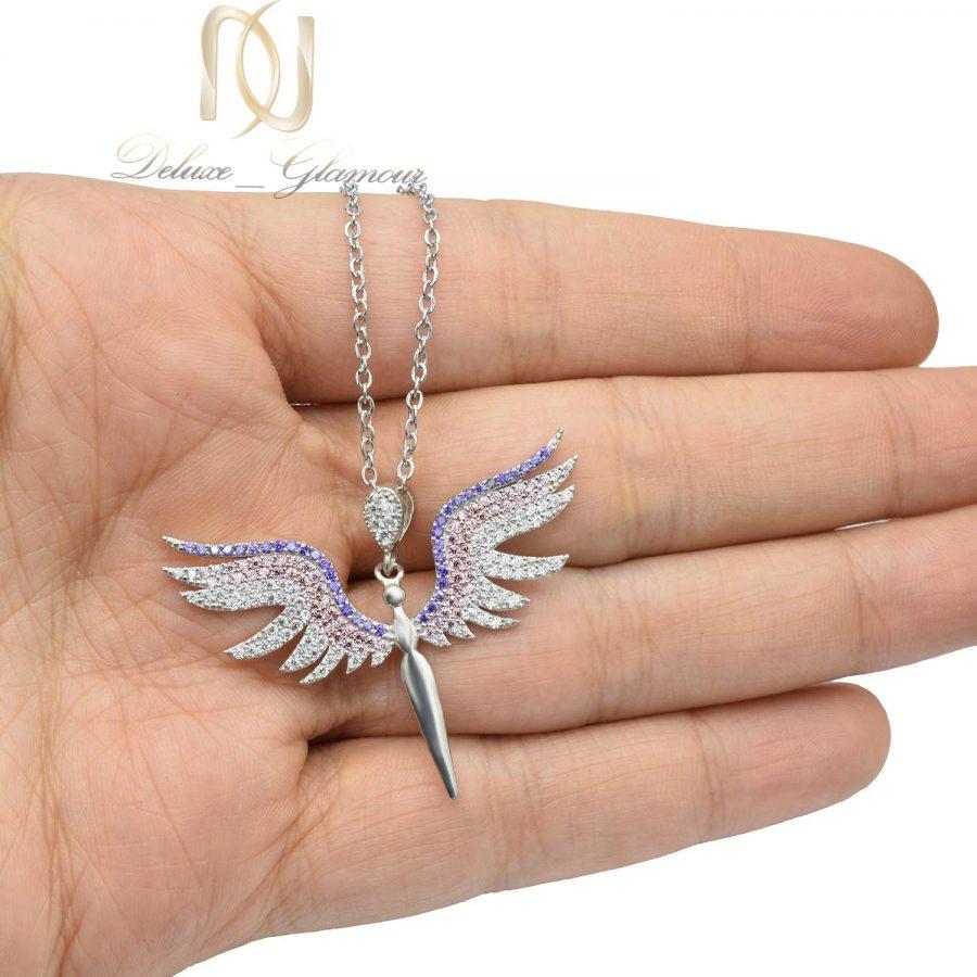 گردنبند نقره دخترانه طرح فرشته nw-n638