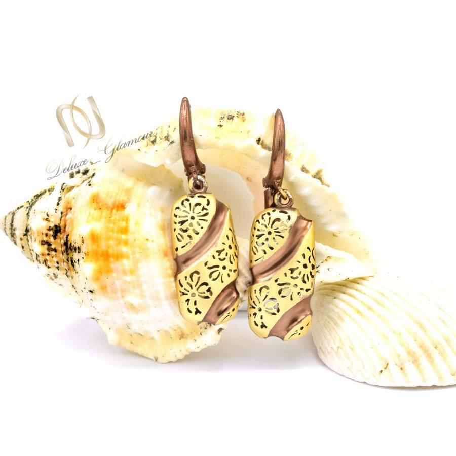 گوشواره نقره زنانه طرح طلا er-n205