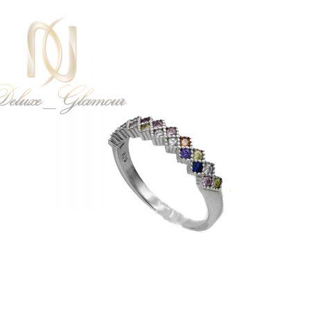 انگشتر نقره دخترانه پرنس rg-n488 از نمای سفید