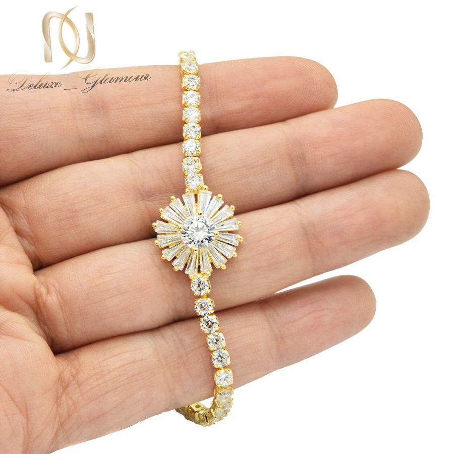 دستبند دخترانه نگین سواروسکی کلیو ds-n561