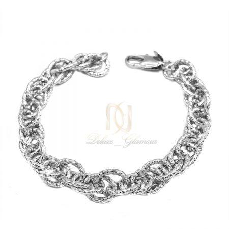 دستبند زنانه طرح کارتیه تراش ds-n564 از نمای سفید