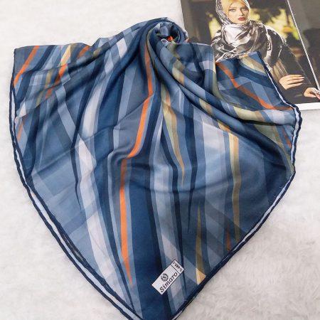 روسری نخی دست دوزی شده قواره بزرگ از نمای کلی