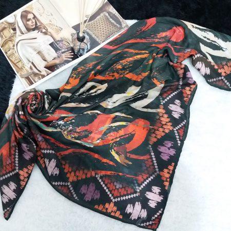 روسری نخی مدرن از نمای کلی