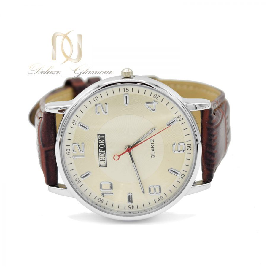 ساعت مردانه مچی چرمی wh-n186 از نمای روبرو