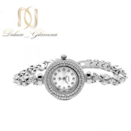 ساعت نقره 925 اصل جواهری wh-n187