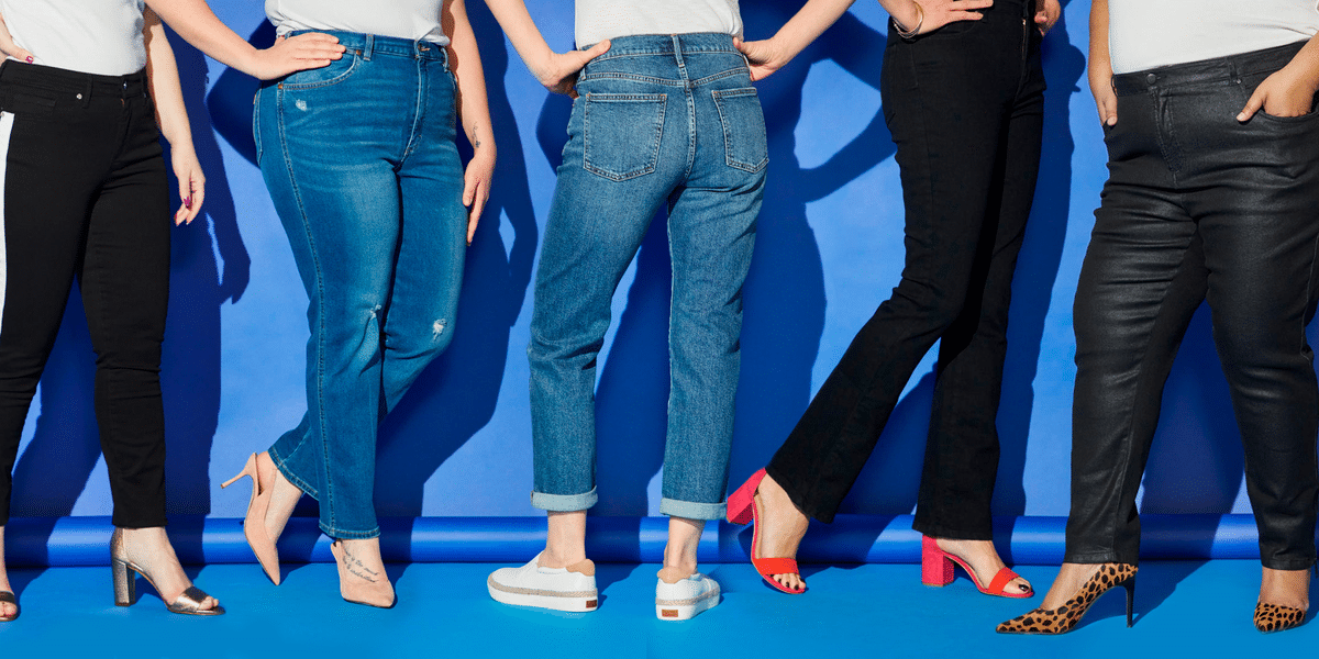 5 راز انتخاب شلوار جین مناسب خانمها