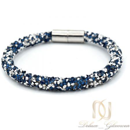 دستبند دخترانه دستساز طرح سواروسکی ds-n589