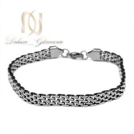 دستبند مردانه اسپرت استیل ds-n584