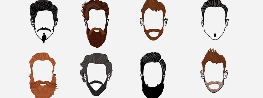 انواع ریش متناسب با فرم صورت