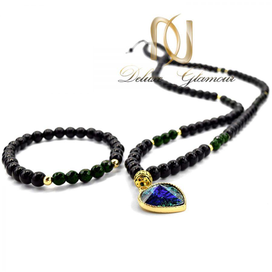 ست دستبند و گردنبند دخترانه اسپرت gh-n103 از نمای پایین