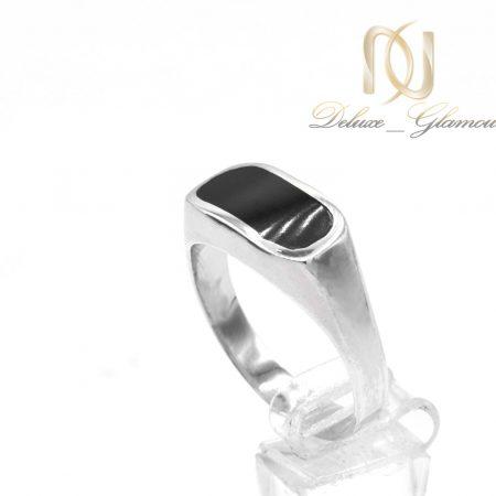انگشتر نقره مردانه ترک عیار 925 اصل rg-n502 از نمای سفید