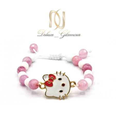 دستبند بچگانه کیتی سنگی ds-n597 از نمای سفید