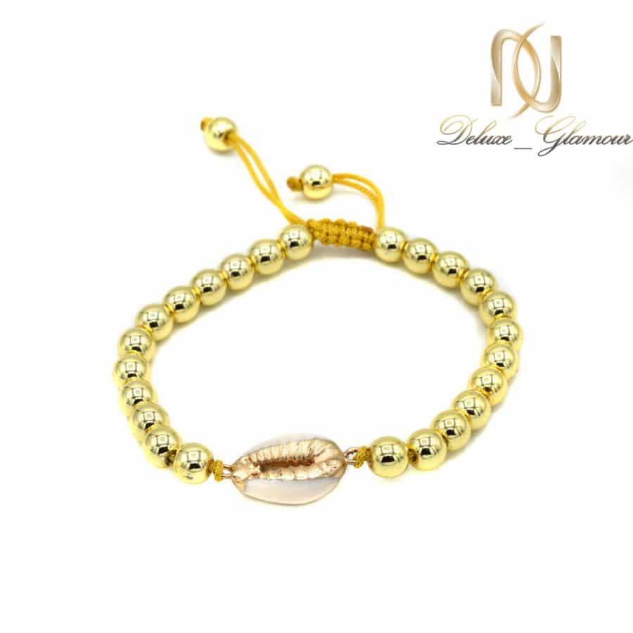 دستبند دخترانه فشن سنگ حدید za-n404