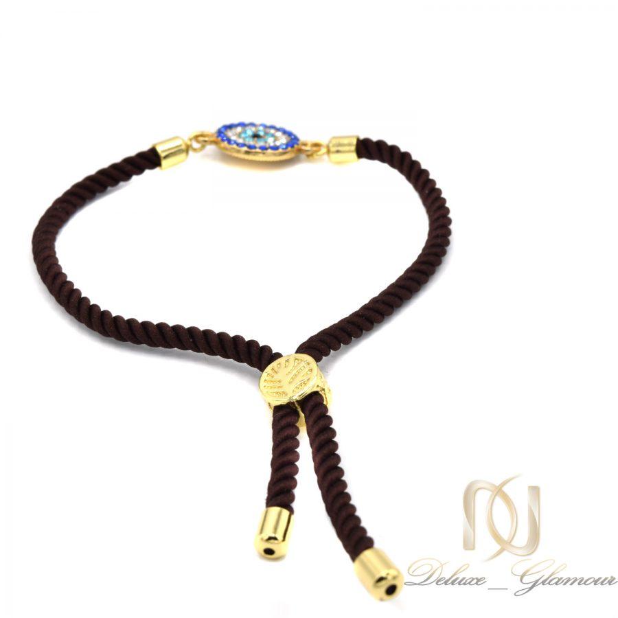 دستبند دخترانه فشن طرح چشم نظر za-n408