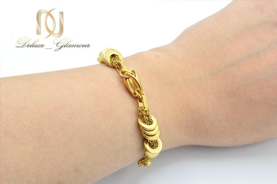 دستبند زنانه طرح طلا استیل ds-n600