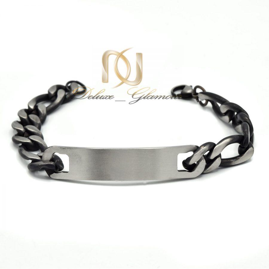 دستبند مردانه استیل طرح کارتیه جدید ds-n603