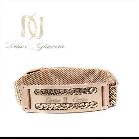 دستبند مردانه طرح کارتیه حصیری ds-n608