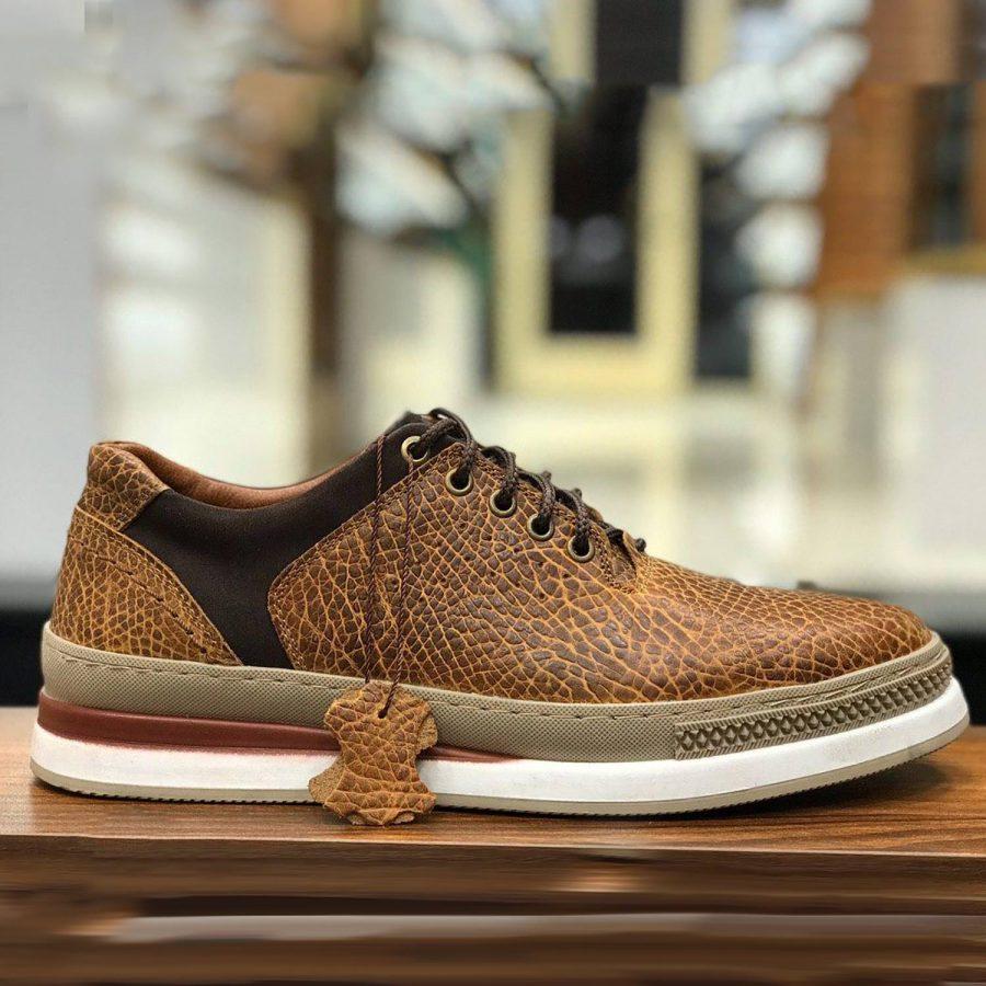 کفش مردانه چرم تمام دست دوز sh-n113