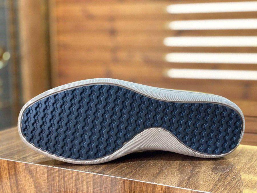 کفش مردانه چرم طرح کاترپیلار قهوه ای sh-n133