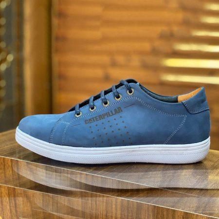 کفش مردانه چرم طرح کاترپیلار SH-N117