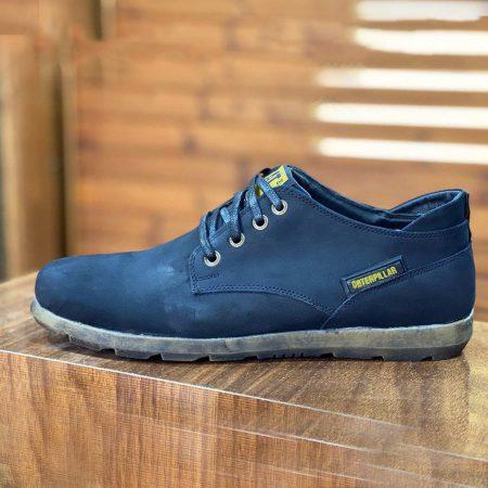 کفش مردانه چرم طرح کاترپیلار sh-n125