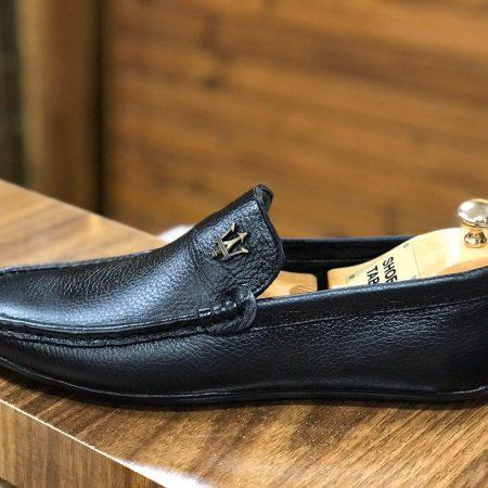 کفش مردانه چرم طرح کالج sh-n115