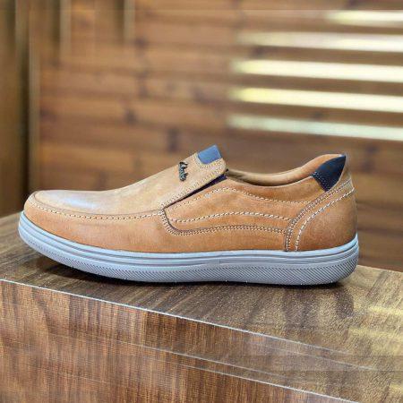 کفش چرم مردانه کلارک دست دوز sh-n129