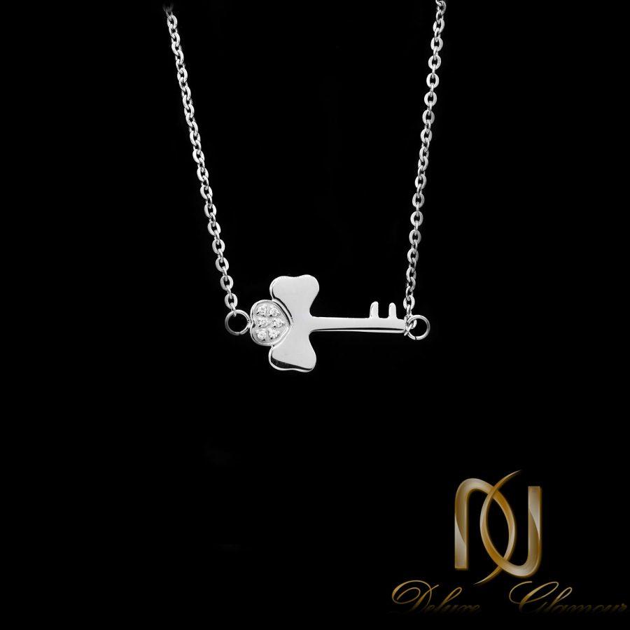 گردنبند ژوپینگ دخترانه طرح کلید nw-n671