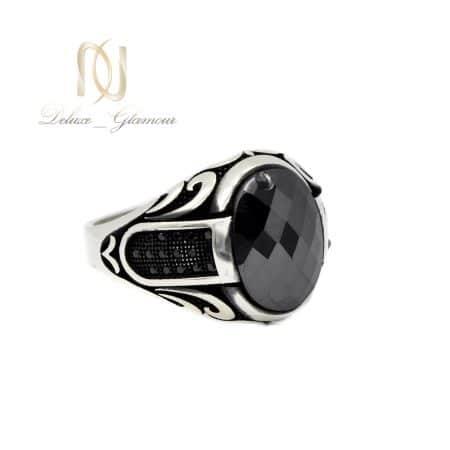 انگشتر مردانه اسپرت نقره عیار 925 اصل RG-N527 از نمای سفید