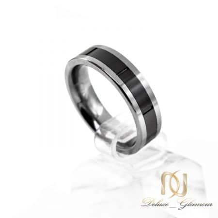 حلقه تنگستن دو رنگ اسپرت rg-n508 از نمای روبرو