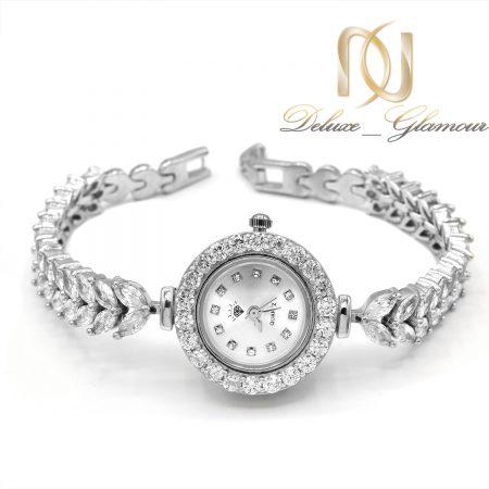 ساعت نقره زنانه جواهری طرح جدید sh-n194
