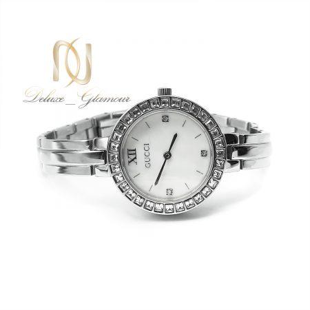 ساعت گوچی زنانه استیل نقره ای sh-n192