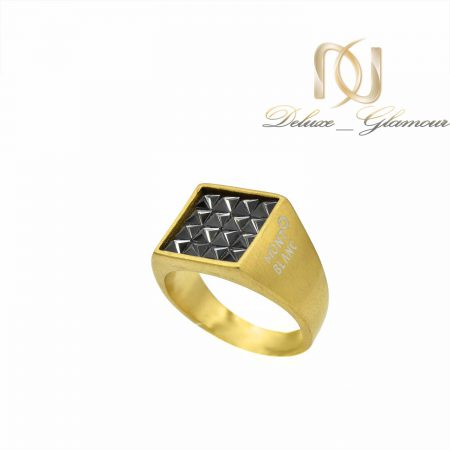 انگشتر مردانه مونت بلانک طلایی rg-n511 اصلی