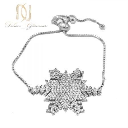 دستبند دخترانه دانه برف بند کراواتی Ds-n630 عکس اصلی