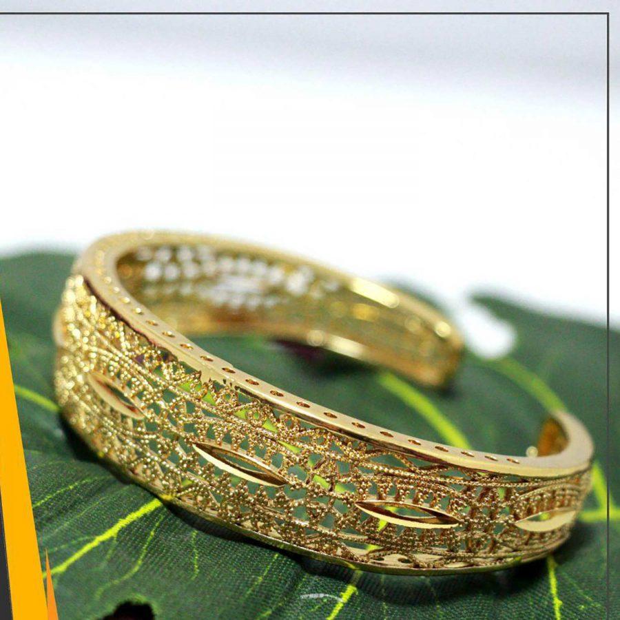 دستبند زنانه عمده برنجی ba-n102