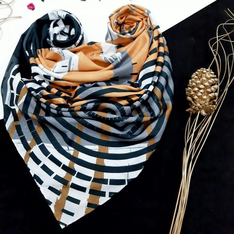روسری نخی طرح مدرن 4 از نمای کلی