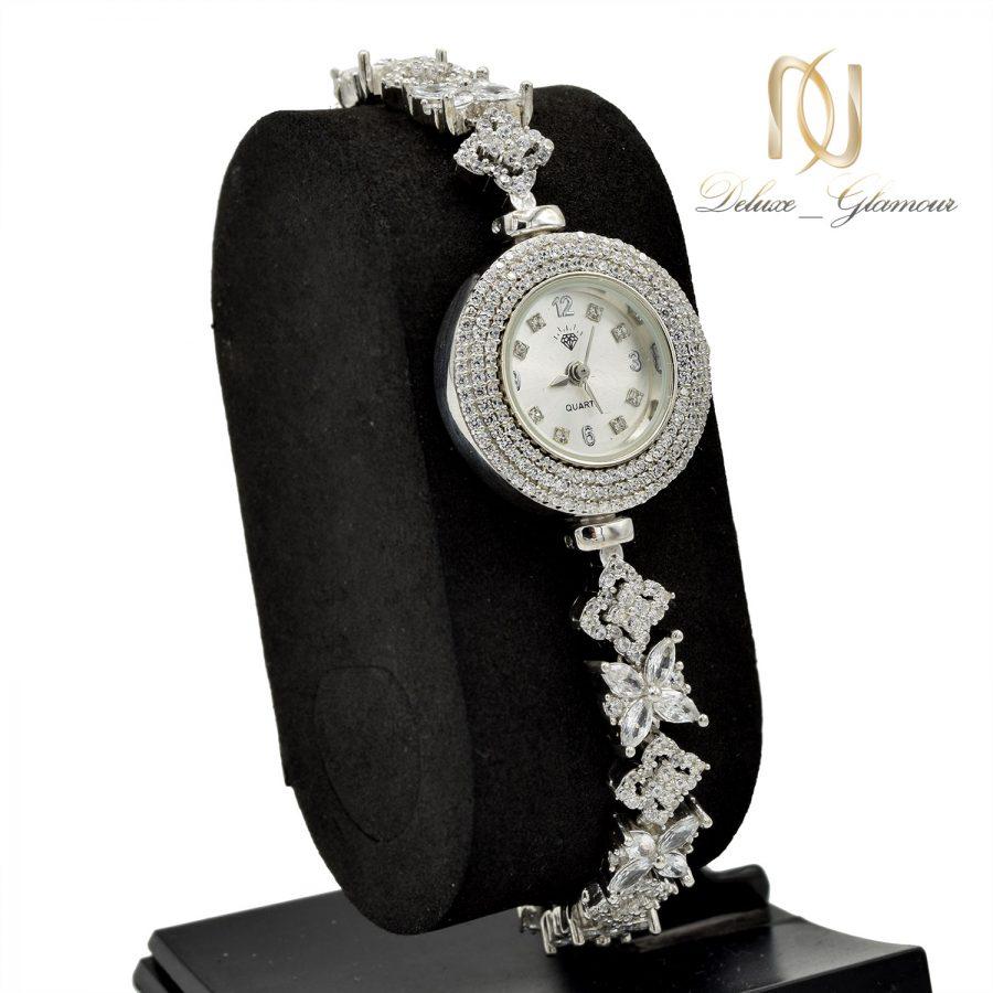 ساعت نقره جواهری خاص زنانه sh-n198 از نمای جدید