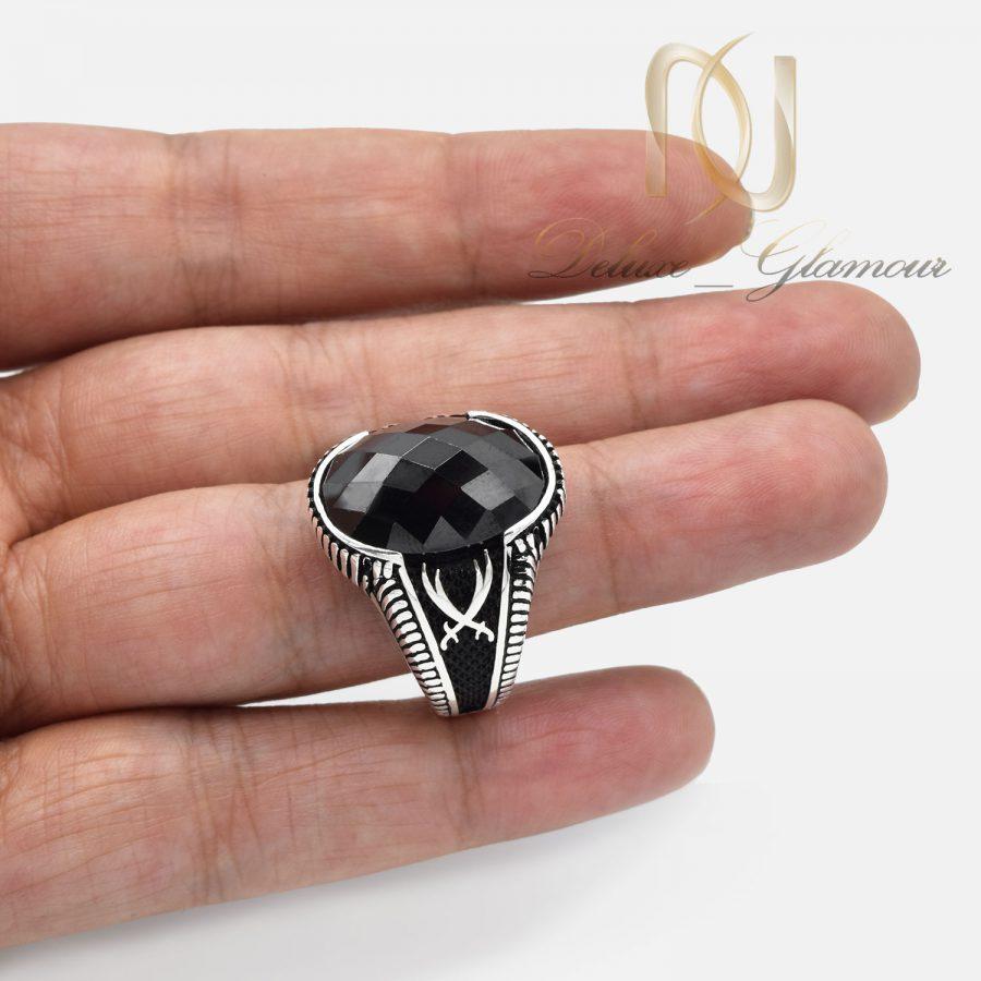 انگشتر مردانه اسپرت مشکی ترک rg-n523