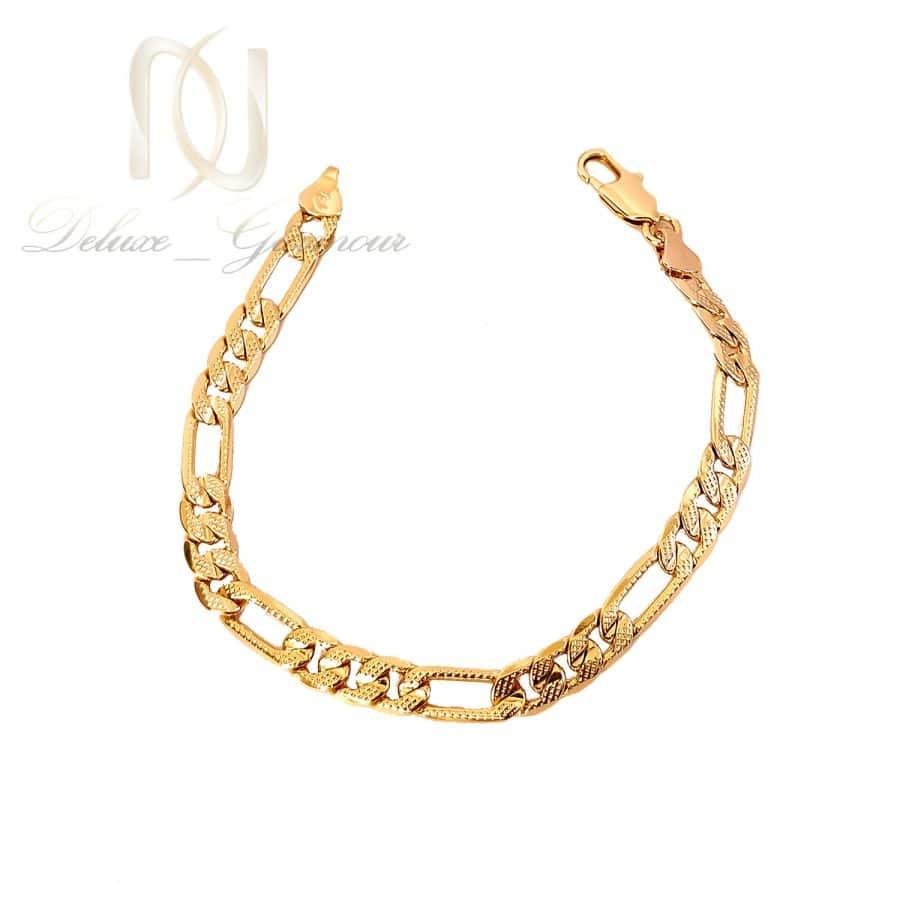 دستبند ژوپینگ زنانه طرح طلا ds-n653 از نمای سفید