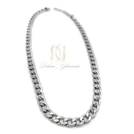 زنجیر مردانه کورب استیل NW-N742 از نمای سفید