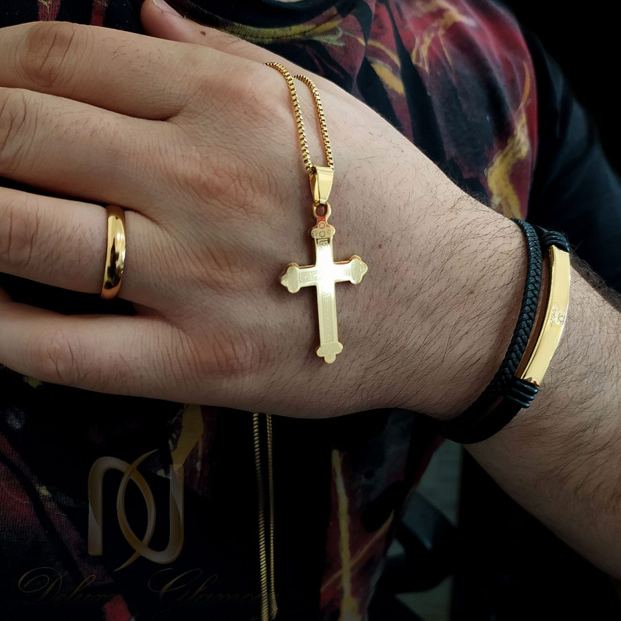 ست دستبند و گردنبند و انگشتر مردانه ns-n652