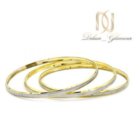 النگو نقره ظریف طرح طلا al-n130