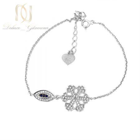 دستبند دخترانه ظریف نقره اصل ds-n661